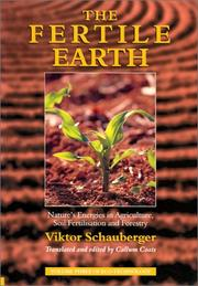 Cover of: The Fertile Earth | Viktor Schauberger