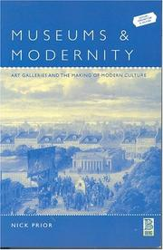Cover of: Museums and Modernity | Nick Prior