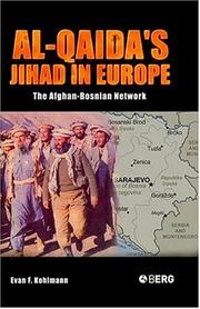 Cover of: Al-Qaida's Jihad in Europe | Evan F. Kohlmann