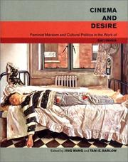 Cover of: Cinema and Desire | Tani Barlow