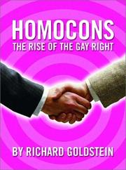 Cover of: Homocons by Richard Goldstein