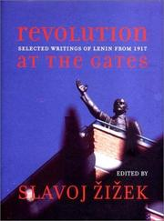 Cover of: Revolution at the gates by Vladimir Ilich Lenin