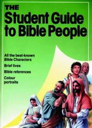 Cover of: People of the Bible (Essential Bible Reference) | Robert Backhouse