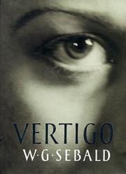Cover of: Vertigo | W.G. Sebald