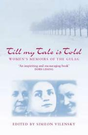 Cover of: Till My Tale Is Told (Indiana-Michigan Series in Russian & East European Studies) | Simeon Vilensky