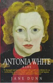 Cover of: Antonia White | Jane Dunn