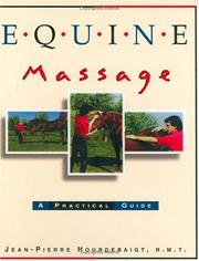 Cover of: Equine Massage | Jean Pierre Hourdebaigt