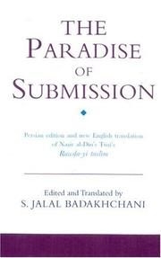 Cover of: The Paradise of Submission | Nasir al-Din Tusi