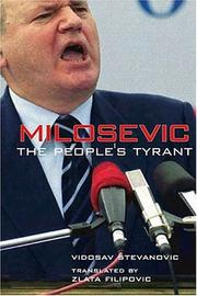 Cover of: Milosevic | Vidosav Stevanovic