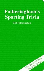 Cover of: Fotheringham's Sporting Trivia | Will Fotheringham