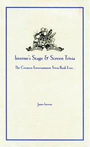 Cover of: Inverne's Stage and Screen Trivia | James Inverne