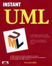Cover of: Instant Uml | Pierre-Alain Muller