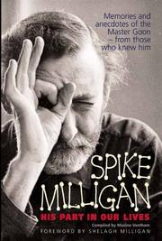 Cover of: Spike Milligan | Maxine Ventham