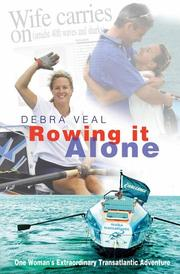 Cover of: Rowing It Alone | Debra Veal
