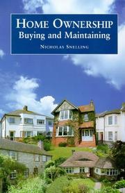Cover of: Home Ownership | Nicholas Snelling