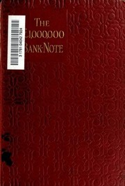 Cover of: The Million Pound Bank-Note and Other New Stories | Mark Twain