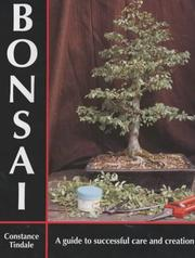 Cover of: Bonsai | Constance Tindale