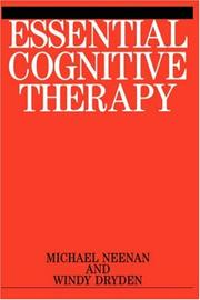 Cover of: Essential Cognitive Therapy | Windy Dryden
