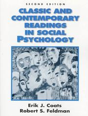 Cover of: Classic and contemporary readings in social psychology | Robert S. Feldman