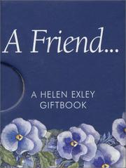 Cover of: A Friend | Helen Exley