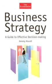 Cover of: Business strategy | Jeremy Kourdi