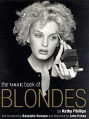 Cover of: The Vogue book of blondes | Kathy Phillips