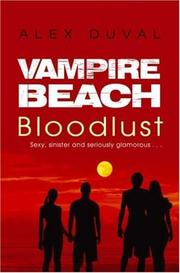Cover of: Vampire Beach | Alex Duval