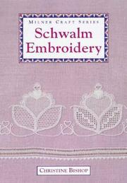 Cover of: Schwalm Embroidery | Christine Bishop