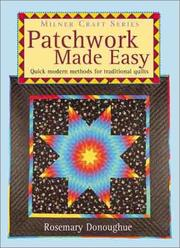 Cover of: Patchwork Made Easy | Rosemary Donoughue