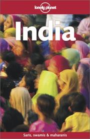 Cover of: Lonely Planet India (India, 9th ed) by Sarina Singh