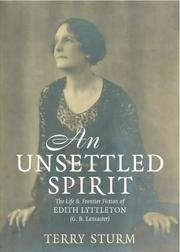 Cover of: An unsettled spirit by Terry Sturm