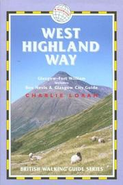 Cover of: West Highland Way | Charlie Loram