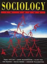 Cover of: Sociology in Focus | Ian Marsh
