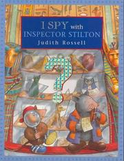 Cover of: I Spy with Inspector Stilton by Judith Rossell