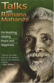 Cover of: Talks with Ramana Maharshi | Ramana Maharshi.