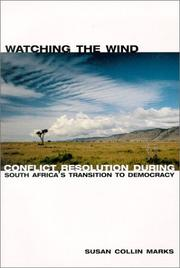 Cover of: Watching the wind | Susan Collin Marks