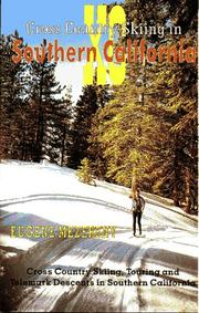 Cover of: Cross country skiing in Southern California | Eugene Mezereny