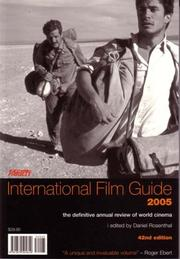 Cover of: Variety International Film Guide 2005 | Daniel Rosenthal