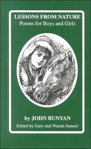 Cover of: Book for boys and girls by John Bunyan