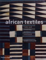Cover of: African textiles | John Gillow