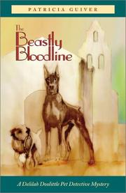 Cover of: The beastly bloodline by Patricia Guiver