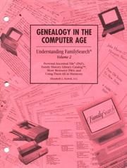 Cover of: Genealogy in the computer age by Elizabeth L. Nichols