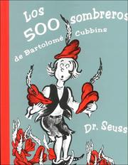 Cover of: The 500 hats of Bartholomew Cubbins by Dr. Seuss