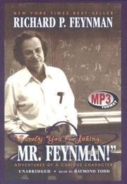 Cover of: Surely You're Joking, Mr. Feynman | Richard Phillips Feynman