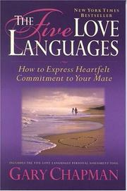 Cover of: The Five Love Languages by Gary D. Chapman