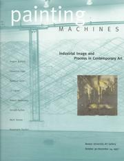 Cover of: Painting machines | Caroline A. Jones
