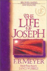 Cover of: The life of Joseph by Meyer, F. B.