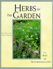 Cover of: Herbs in the garden | Rob Proctor