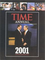 Cover of: Time Annual 2001 | Time Magazine