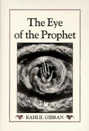 The eye of the prophet | Open Library